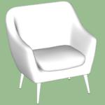 Club Chair Modeling in SketchUp TutorialsUp (4)