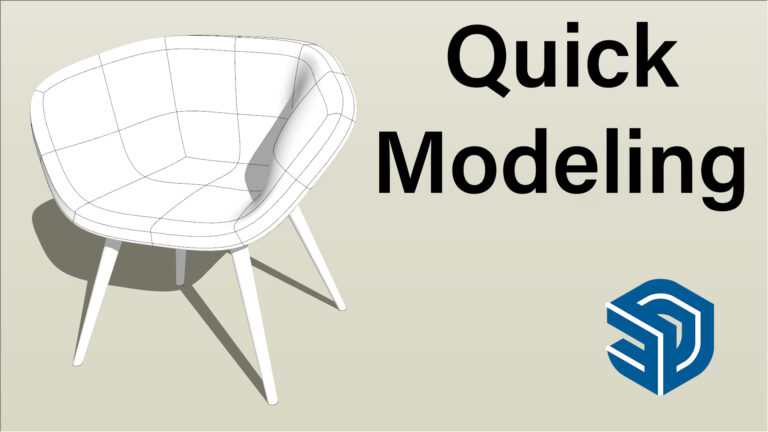 Quick modeling Video in SketchUp