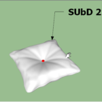 Rectangle Button Cushion 3D Modeling In SketchUp (1)