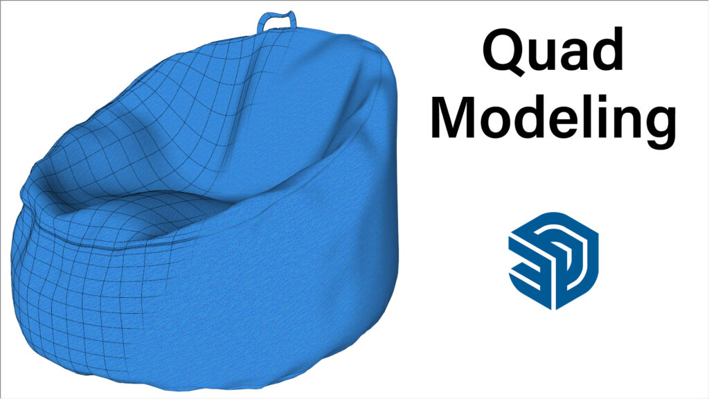 Bean Bag Chair Modeling In SketchUp