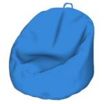 Bean Bag Chair Modeling In SketchUp (3)
