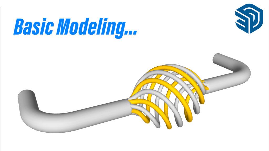 Basic Modeling in SketchUp – Handle